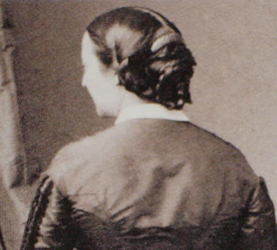 I love these sumptuous 1860s images of hairstyles.