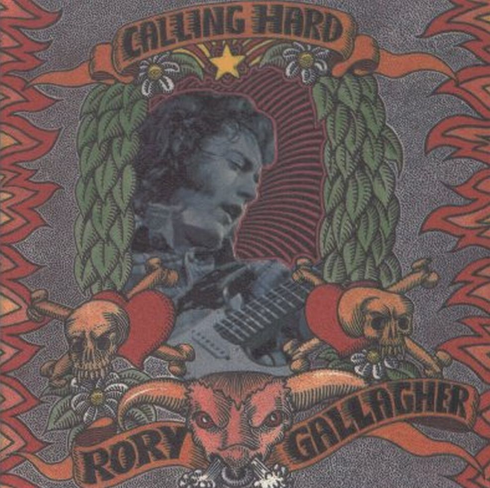 Dessins & peintures - Page 2 Rory+Gallagher+-+Calling+Hard+-+Front