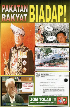 BIADAP TERHADAP SULTAN !