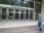 EN JOAN RIUTORT, EX-ALUMNE DEL CENTRE, VISITANT LA BORSA DE BARCELONA