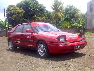Mazda 323 Astina Shades. Mazda+323+astina+shades