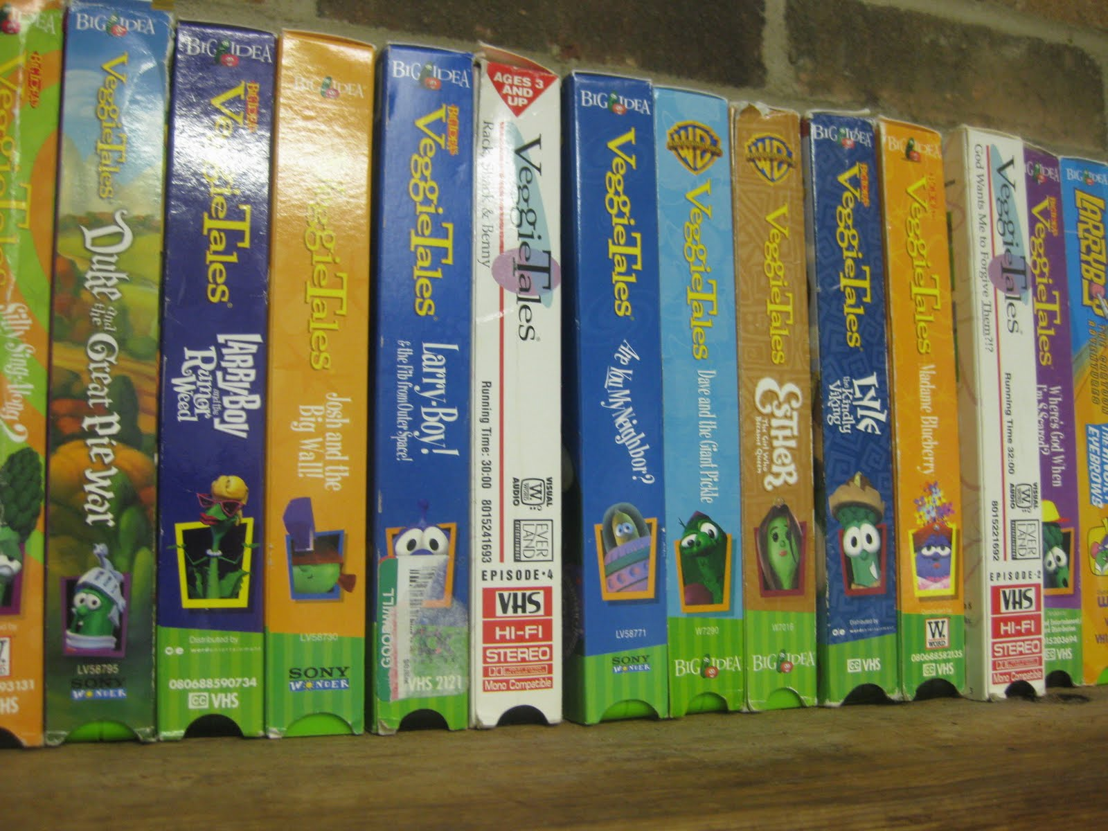 16 Veggietales Vhs Related Keywords & Suggestions - 16 Veggietales Vhs