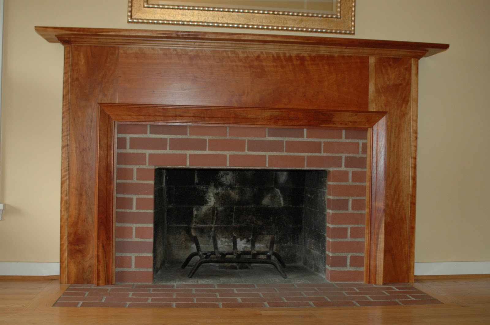 johnschmidtwoodworking fireplace mantel