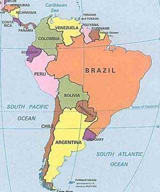 Geografia Para Todos: Mapa Da América Latina Stephany