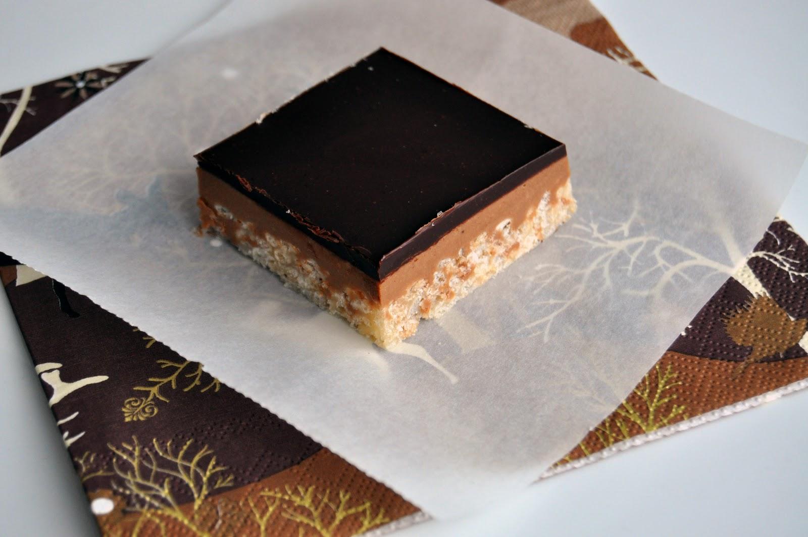 Impeccable Taste: Peanut Butter Crispy Bars