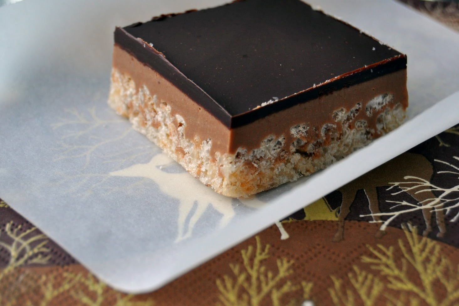 Impeccable Taste: Peanut Butter Crispy Bars