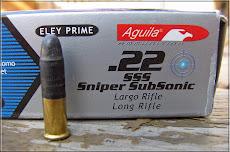 Aguila 60 grain .22 subsonics