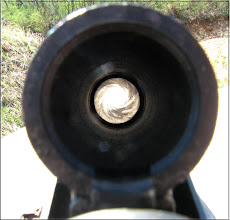Buckshot fired from a rifled barrel