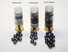 Rio reduced recoil buckshot...