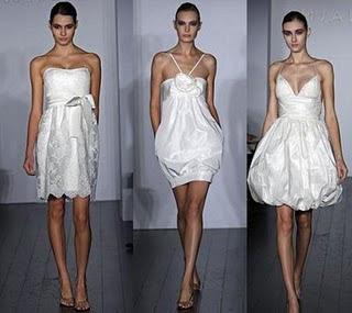 Trendy Summer White Wedding Dresses 2010/2011
