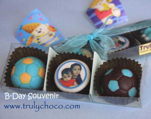 coklat edible foto untuk souvenir ulang tahun
