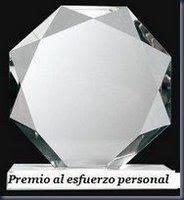 PREMIO AL ESFUERZO PERSONAL 2008