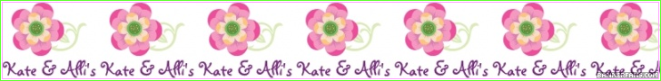 Kate and Alli's