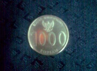 Foto dan Gambar uang Koin atau Logam 1.000