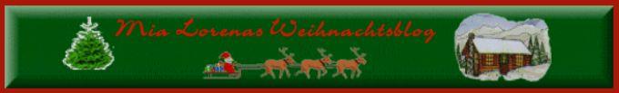 Mia Lorenas Weihnachtsblog