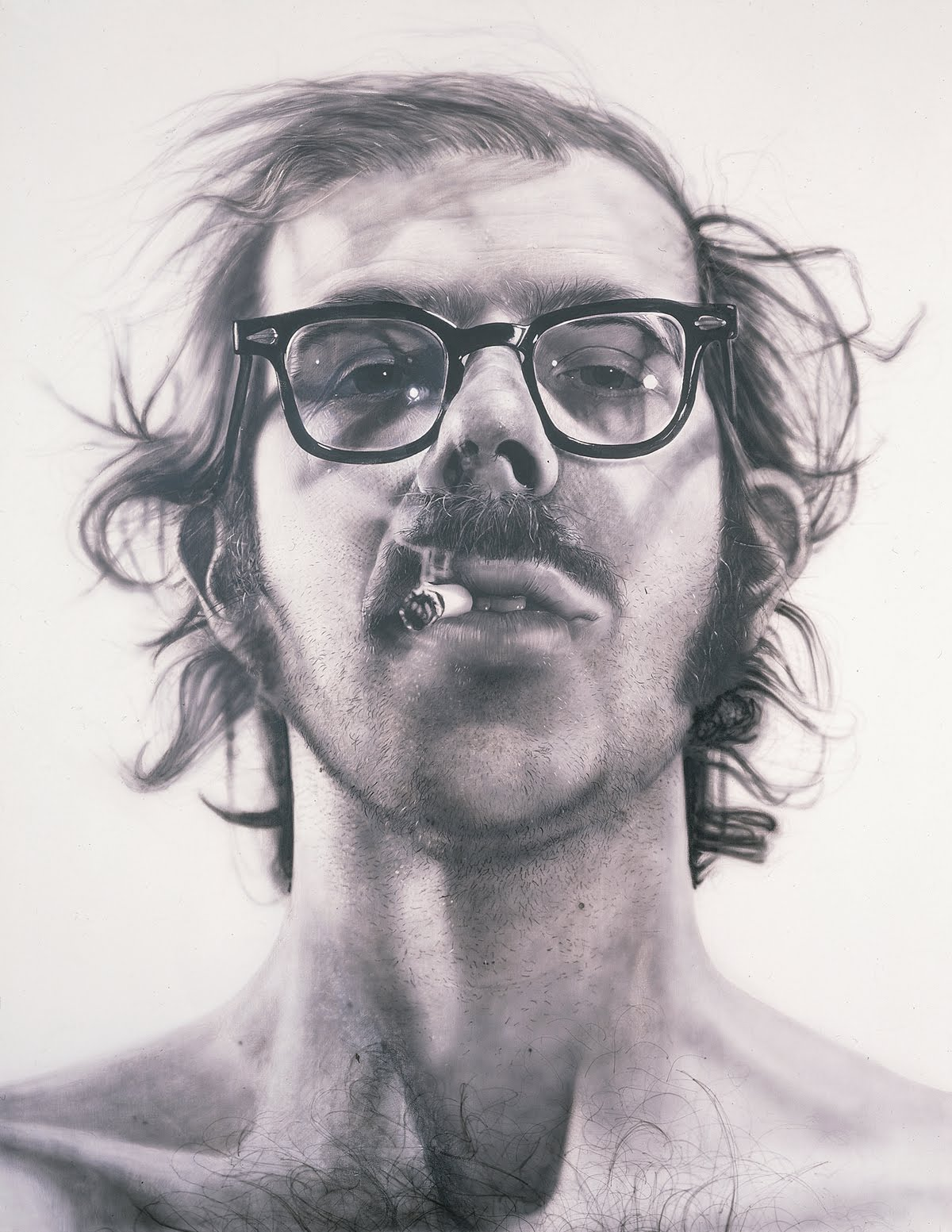 Not Quite Starving Artist Artist Of The Day Chuck Close