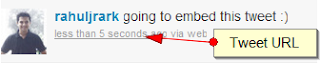 Twitter Embedded Tweets