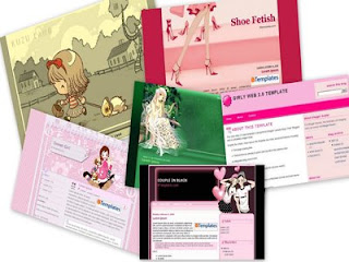 Girly Blogger Templates