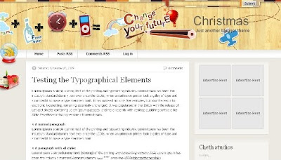 best blogger templates-Christmas V2.0