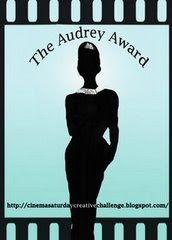 I won the Audrey Award!!!