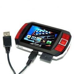 PMP - reproductor de MP3 y MP4, cámara digital, visor de fotos