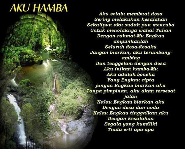 "~ As Sukut 'Alamatur Redho ("",)"