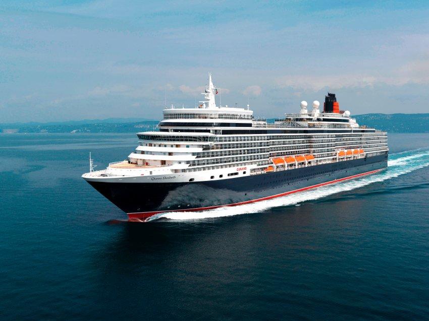 Ships In The Panama Canal Queen Elizabeth Names Cunardu0026#39;s Cruise Ship In Southampton