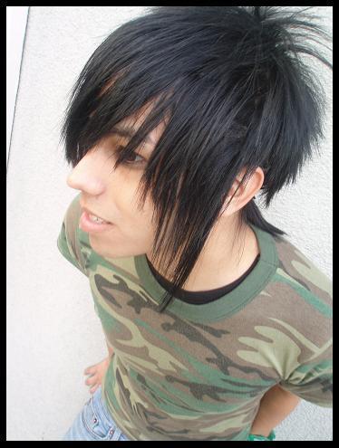 HD wallpapers emo boy hair cut
