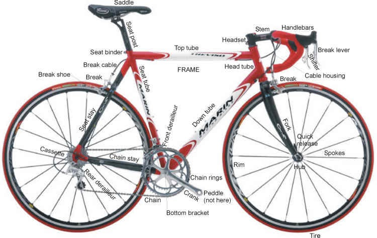 hub \'n ride: A Basic knowledge About Our Bike - The Anatomy