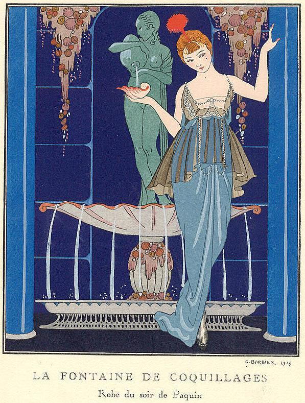 Accessories lane george barbier cool decadance of the for Art deco era clothing