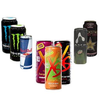 bebidas energizantes - BEBIDAS ENERGÉTICAS CON CAFEÍNA Y RENDIMIENTO DEPORTIVO