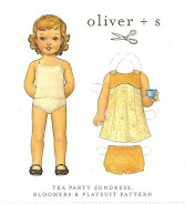 Oliver + S Tea Party Sundress & bloomers