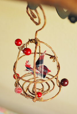 bird and birdcage ornament tutorial