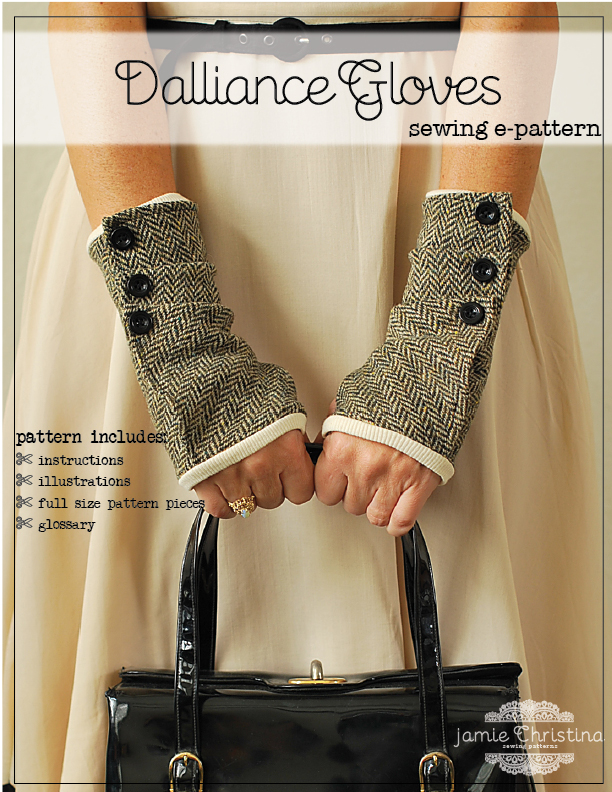 Pretty Ditty: The Dalliance Glove e-pattern