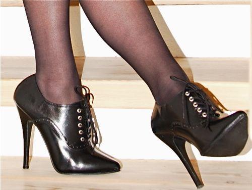 close-up photo of my high heels
