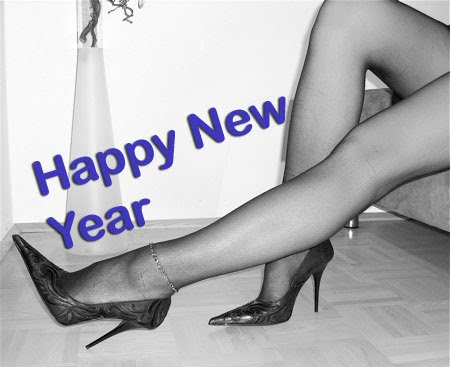 happy high heeled new year