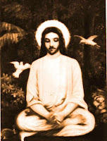 Jesus in meditation
