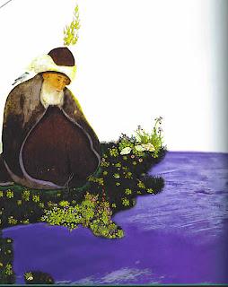 Rumi sitting Mevlana Jelaluddin Jalaluddin