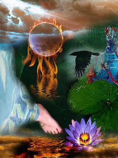 spirit collage, Sadiq Alam, MysticSaint