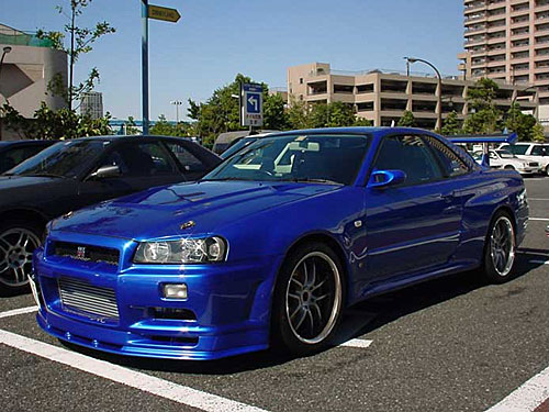 Skyline R34 Gt. Nissan Skyline R34 Fast And