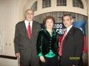 Adalberto ASSAD, Sra. Noble y Carlos Traboulsi