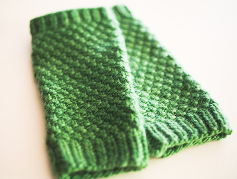 i am what i knit: Carrie Handwarmers