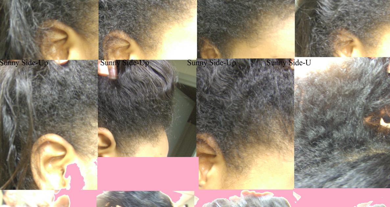 B Natural Hair Texture