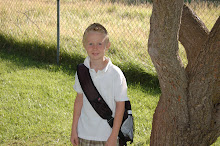 Christian's first day of 3rd grade