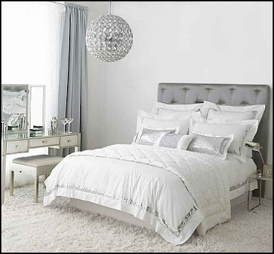 Bedroom decorated hollywood glam houses plans designs for Hollywood bedroom designs