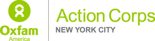 Oxfam Action Corps NYC