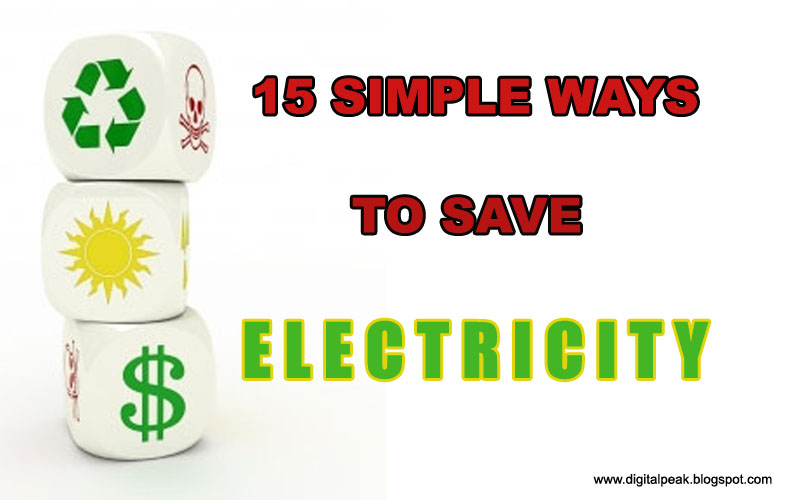 ways%2Bto%2Bsave%2Belectricity Savvy Homemade Energy Tips For Home Owners
