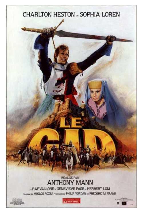 El Cid Soundtrack details