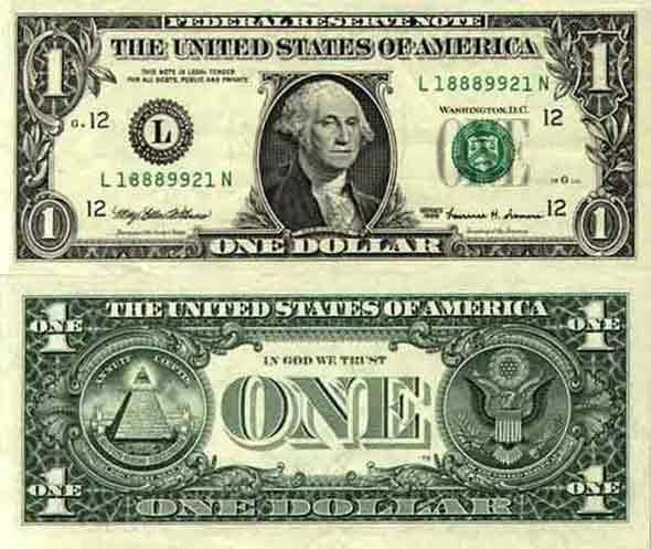 Keunikan Dunia Rahasia Tersembunyi Dibalik Uang Dollar Amerika