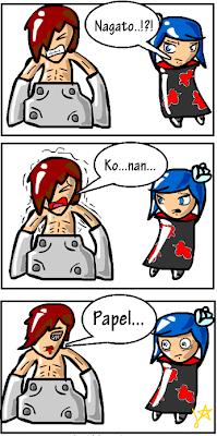 Tirinhas engraçadas do Naruto